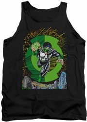 Green Lantern tank top #51 Cover mens black