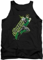 Green Lantern tank top Among The Stars mens black