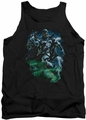 Green Lantern tank top Black Lantern Batman mens black