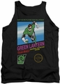 Green Lantern tank top Box Art mens black