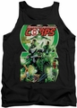 Green Lantern tank top Corps #25 Cover mens black