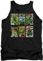 Green Lantern tank top Covers mens black
