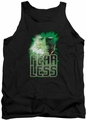 Green Lantern tank top Fearless mens black