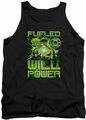 Green Lantern tank top Fueled mens black