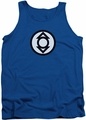 Green Lantern tank top Indigo Tribe mens royal