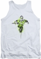 Green Lantern tank top Inked mens white