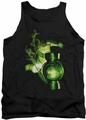 Green Lantern tank top Lantern Light mens black