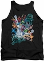 Green Lantern tank top Lanterns Unite mens black