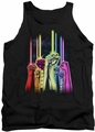 Green Lantern tank top Rainbow Corps mens black