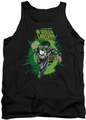Green Lantern tank top Rayner Cover mens black