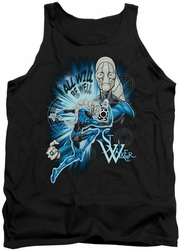 Green Lantern tank top Saint Walker mens black