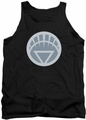 Green Lantern tank top White Symbol mens black
