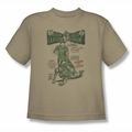 Green Lantern youth teen t-shirt Beware My Power sand