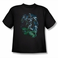 Green Lantern youth teen t-shirt Black Lantern Batman black