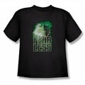Green Lantern youth teen t-shirt Fearless black