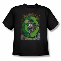 Green Lantern youth teen t-shirt Gl #51 Cover black