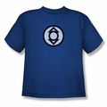 Green Lantern youth teen t-shirt Indigo Tribe royal