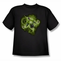 Green Lantern youth teen t-shirt Lantern Nebula black