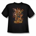 Green Lantern youth teen t-shirt Larfleeze black