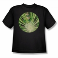 Green Lantern youth teen t-shirt Light Em Up black