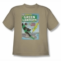 Green Lantern youth teen t-shirt Menace Missle sand