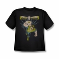 Green Lantern youth teen t-shirt Powerful black