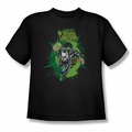 Green Lantern youth teen t-shirt Rayner Cover black