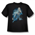 Green Lantern youth teen t-shirt Saint Walker black