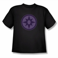 Green Lantern youth teen t-shirt Sapphire Symbol black
