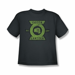 Green Lantern youth teen t-shirt Section charcoal