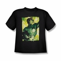 Green Lantern youth teen t-shirt Up Up black