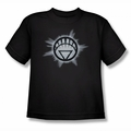Green Lantern youth teen t-shirt White Glow black