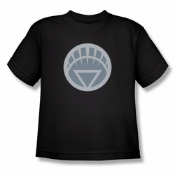 Green Lantern youth teen t-shirt White Symbol black
