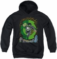Green Lantern youth teen hoodie Gl #51 Cover black