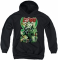 Green Lantern youth teen hoodie Gl Corps #25 Cover black