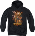 Green Lantern youth teen hoodie Larfleeze black