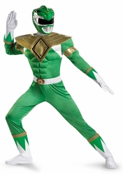 Green Ranger Classic Muscle adult costume