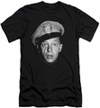 Andy Griffith slim-fit t-shirt Barney Head mens black