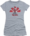 Grim Adventures Of Billy And Mandy juniors t-shirt Grim Adventures athletic heather
