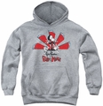 Grim Adventures Of Billy And Mandy youth teen hoodie Grim Adventures athletic heather