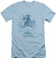 Grim Adventures Of Billy & Mandy slim-fit t-shirt Sketched mens light blue