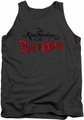 Grim Adventures Of Billy & Mandy tank top Grim Logo mens charcoal
