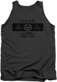 Grim Adventures Of Billy & Mandy tank top Mandy mens charcoal