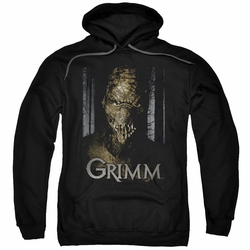 Grimm pull-over hoodie Chompers adult black