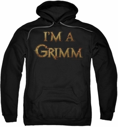 Grimm pull-over hoodie I'm A Grimm adult black