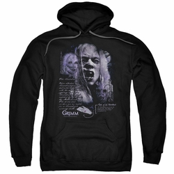 Grimm pull-over hoodie Lady Hexenbeast adult black