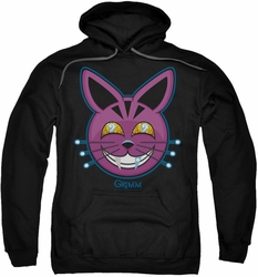 Grimm pull-over hoodie Retchid Kat adult black