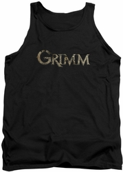 Grimm tank top Logo mens black