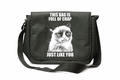Grumpy Cat This Bag is Full of Crap Messenger Bag