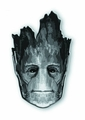 Guardians Of The Galaxy Groot Head Pewter Lapel Pin pre-order